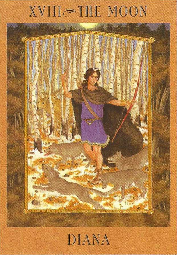 Deusa Diana - The Goddess Tarot
