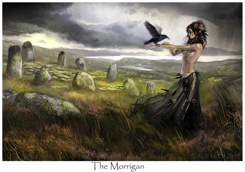 Deusa Morrigan - Deusa da Batalha