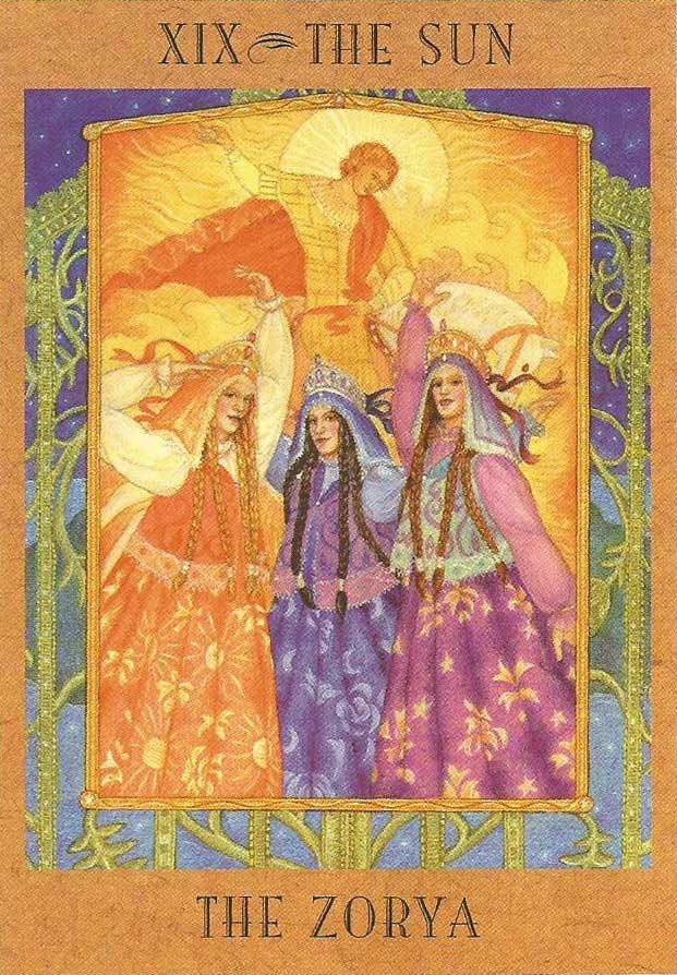 Deusa Zorya - The Goddess Tarot