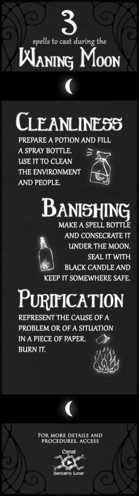 3 spells for the Waning Moon (Pinterest)