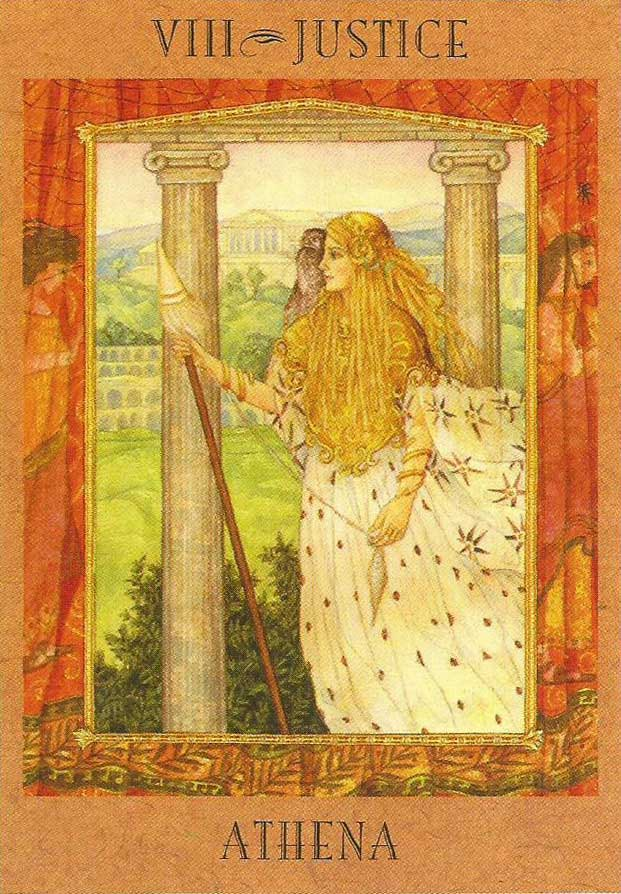 Goddess Athena - The Goddess Tarot
