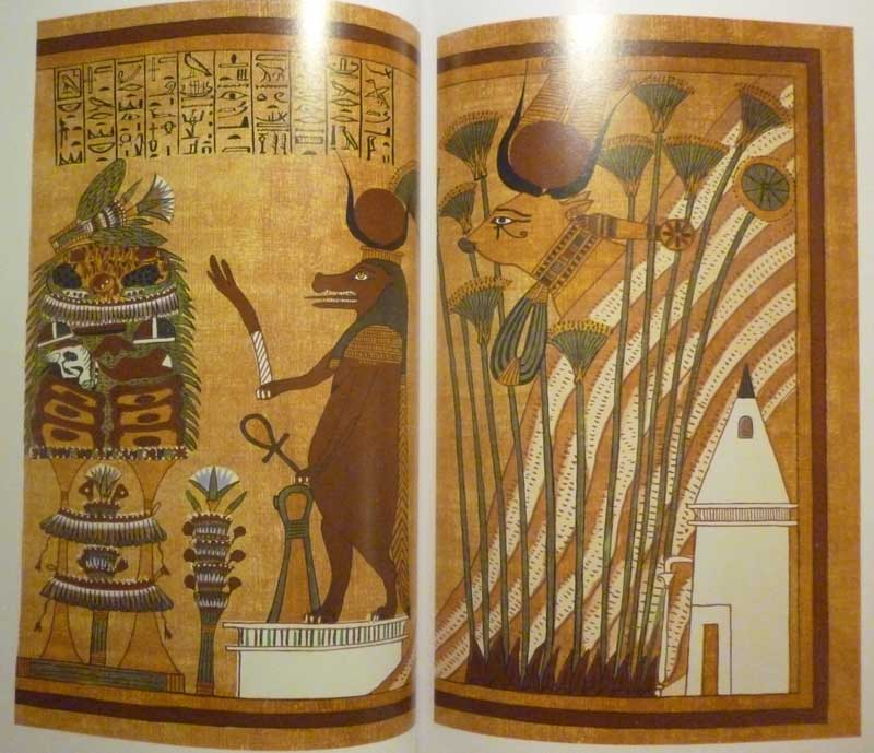Goddess Hathor - Papyrus of Ani - Book of the Dead