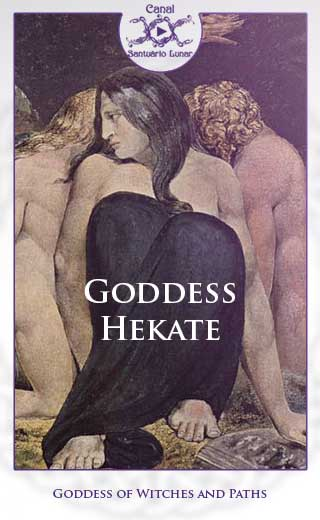 Goddess Hekate Goddess of Witches and Paths (Pinterest)
