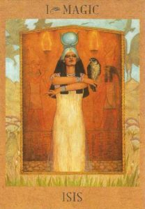 Goddess Isis - The Goddess Tarot