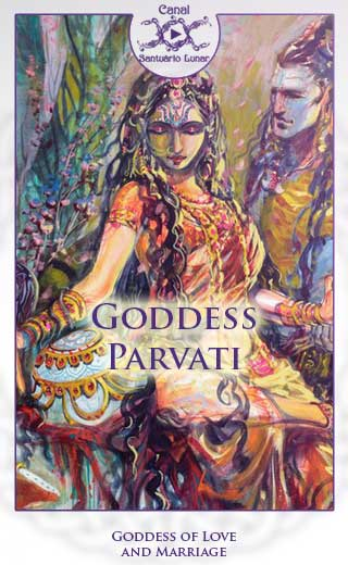 Goddess Parvati - Goddess of Love and Marriage (Pinterest)