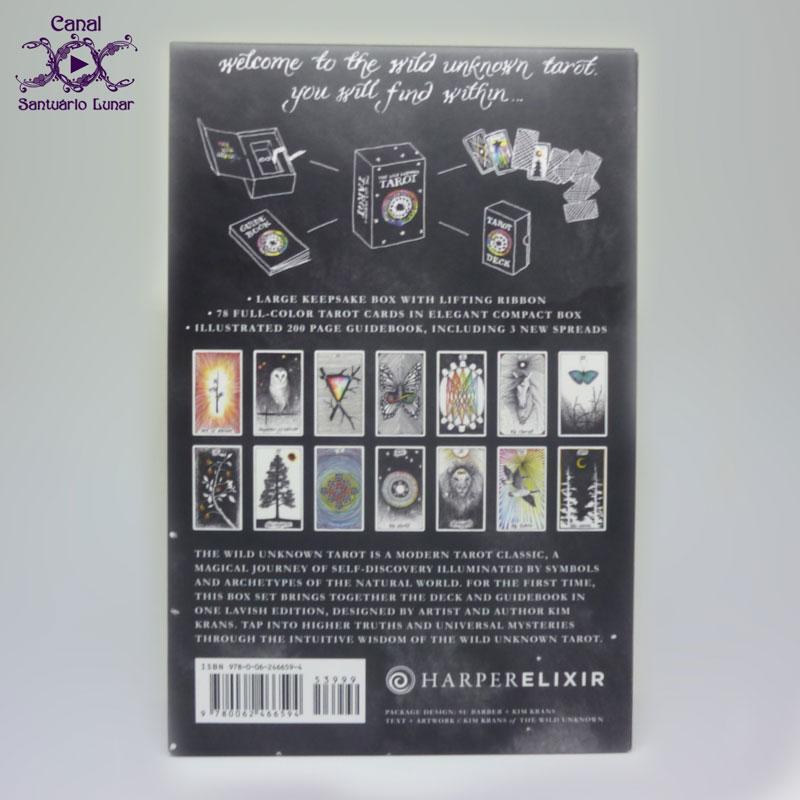 Tarot Decks The Wild Unknown Tarot - Box (back)