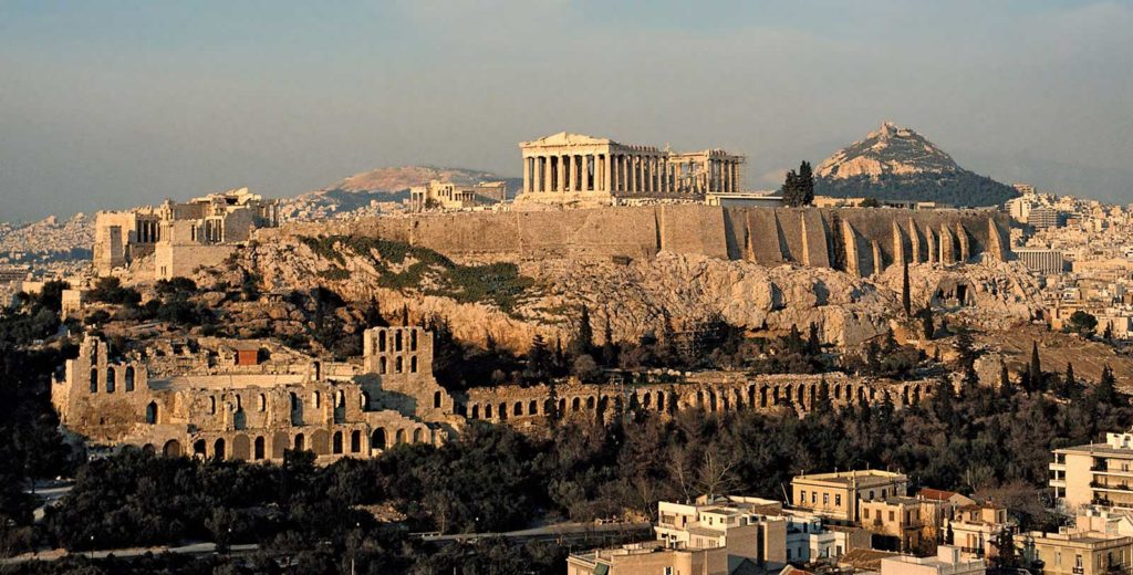 Acropolis, Athens - City state - Greece