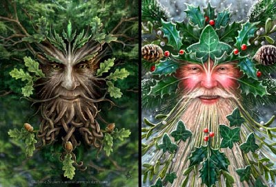 Yule Sabbat - The Oak King and the Holly King