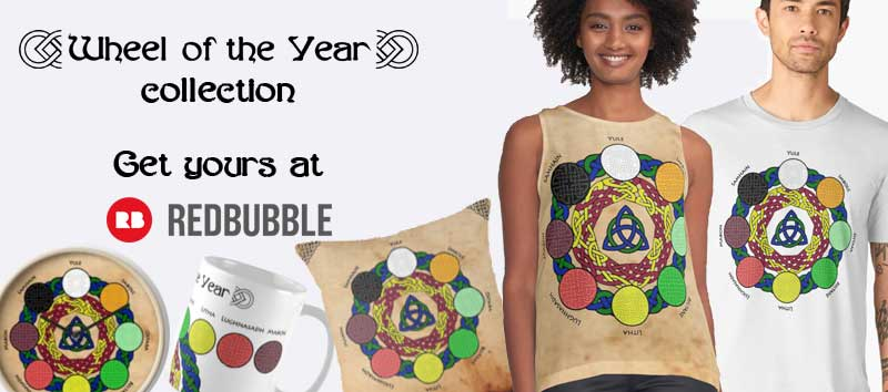 Wheel of the year Collection at Redbubble
