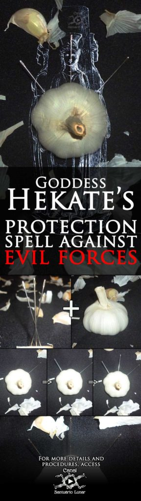 Goddess Hekate's Protection Spell Against Evil Forces