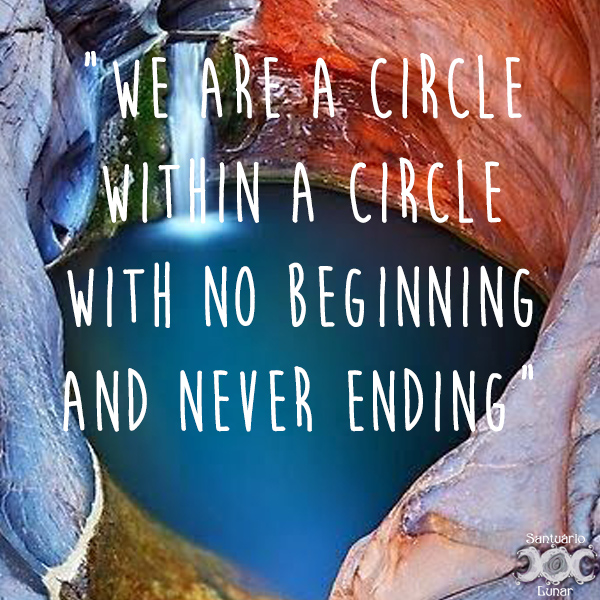 Nature is my church - 09 We are a Circle within a Circle