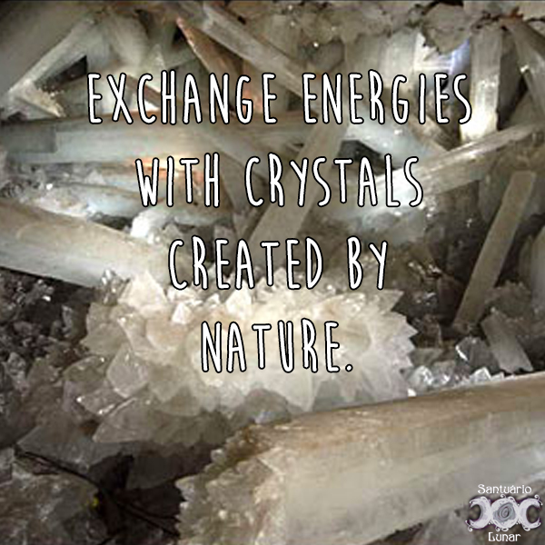 Nature is my church - 34 Exchange energies with crystals created by nature