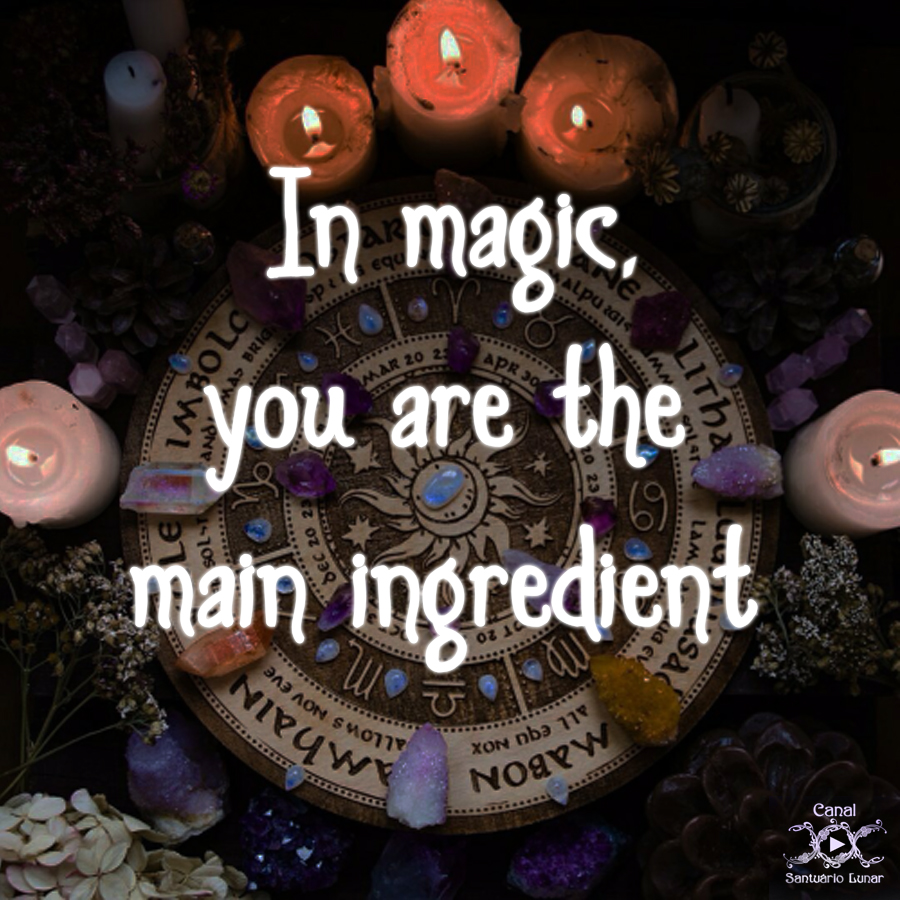 Nature is my Church N04 In Magic you are the main ingredient