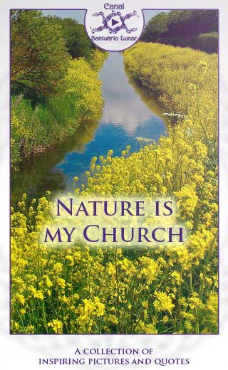 Nature is my church (Pinterest)
