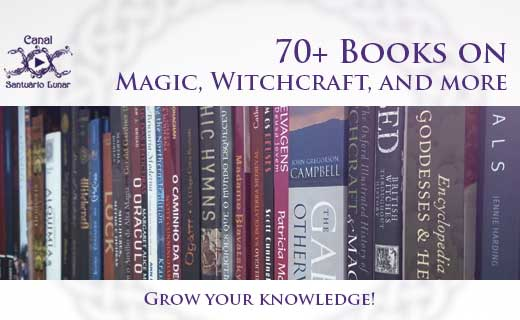 70+ Books about Magic, Witchcraft, Paganism, Mythology and more