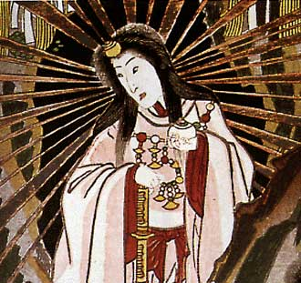 Goddess Amaterasu