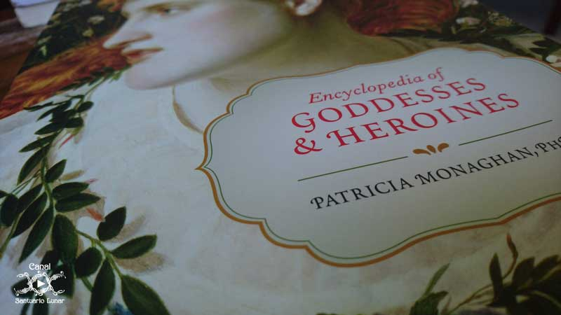 Encyclopedia of Goddesses and Heroines - Cover