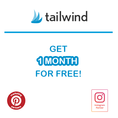 Get a free month and grow your blog with Tailwind