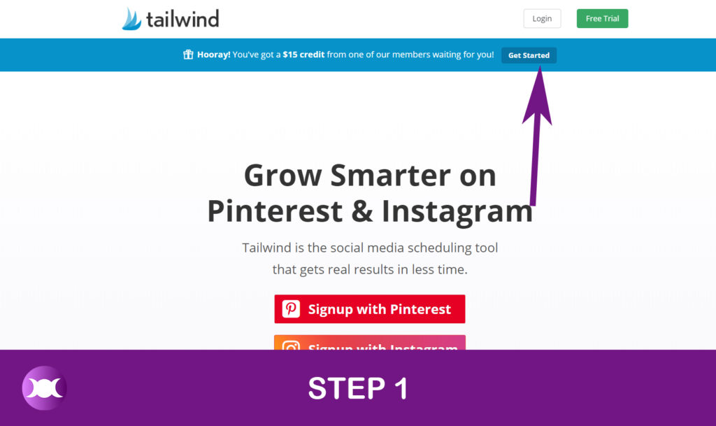 How to enter Tailwind - Step 1