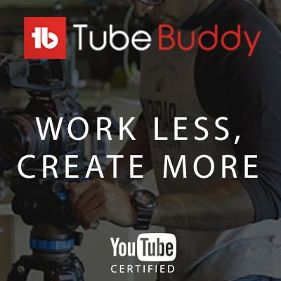 Grow on YouTube with TubeBuddy for free