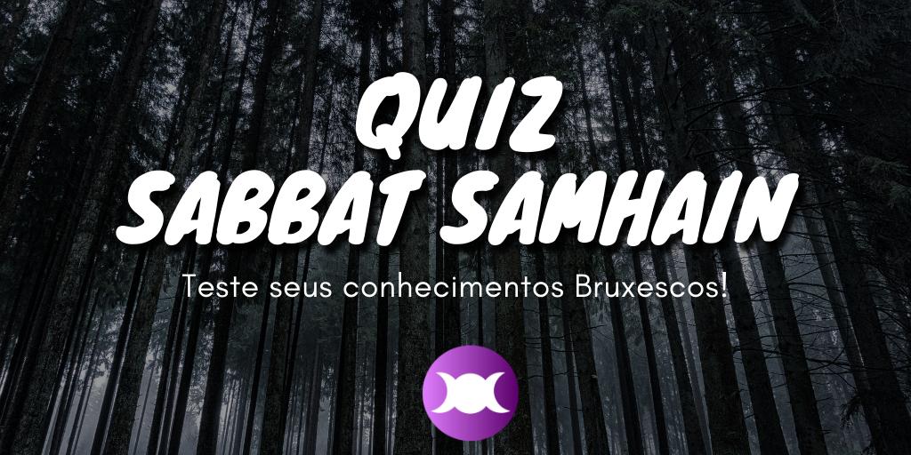 Quiz Sabbat Samhain - Teste seus conhecimentos bruxescos