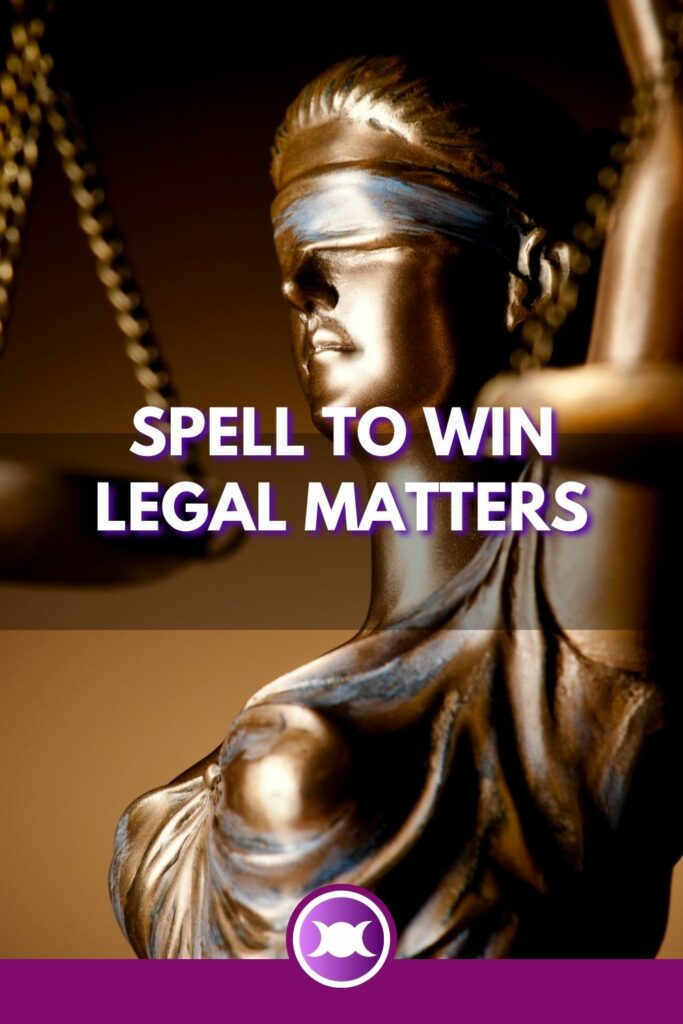 Spell to win legal matters-pin