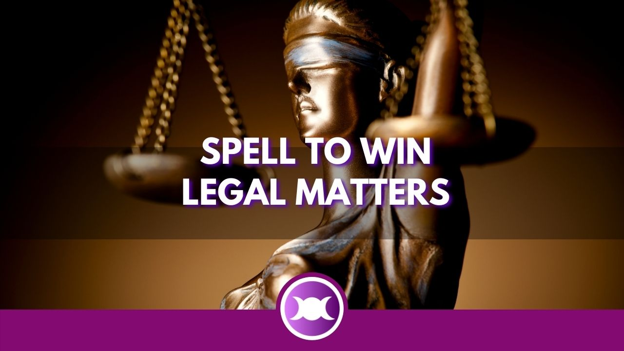 Spell to win legal matters