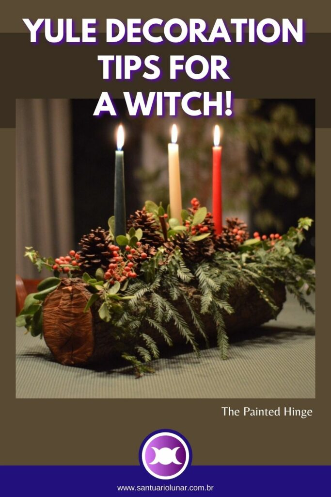 Craft a Yule Log for decoration and ritual