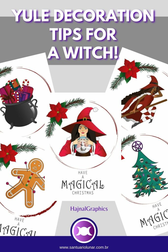 Decorate with Printable Witches
