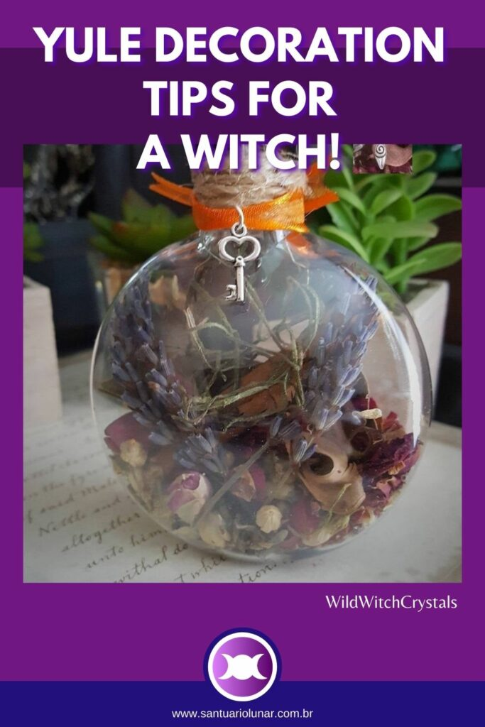 Make a Witch Ball for your Yule Tree decoration