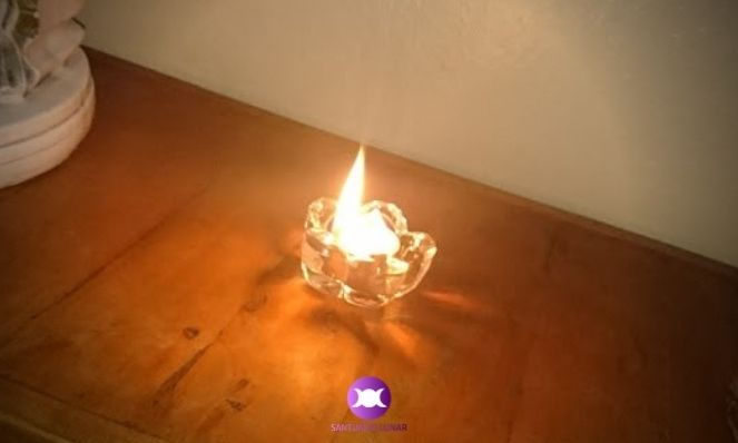 How to invoke the Salamanders - A candle can attract the Nature Spirits of Fire