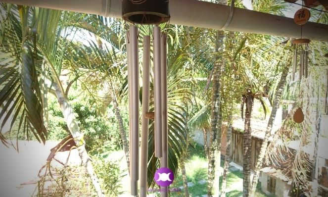 How to invoke the Sylphs - Wind Chimes are great for the Nature Spirits of Air